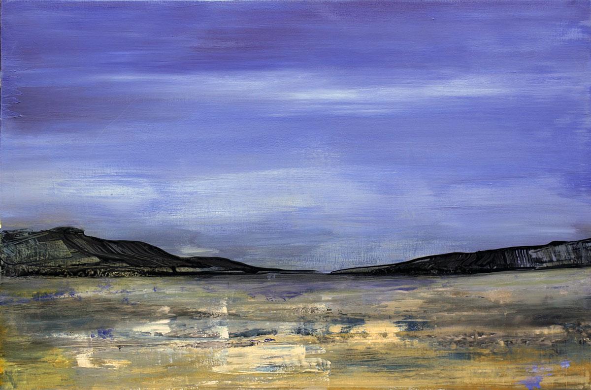 Grytviken, Suedgeorgien - 120x80 acryl on canvas