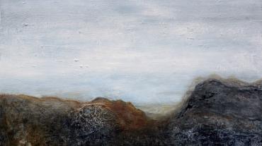 Jordanien 1 - 120x80 acryl on canvas