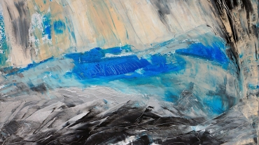 South Orkney 1, Subantarktis - 120x80 acryl on canvas