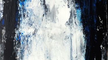 Steinsdalsfossen 2, Norway - 50x100 acryl on canvas