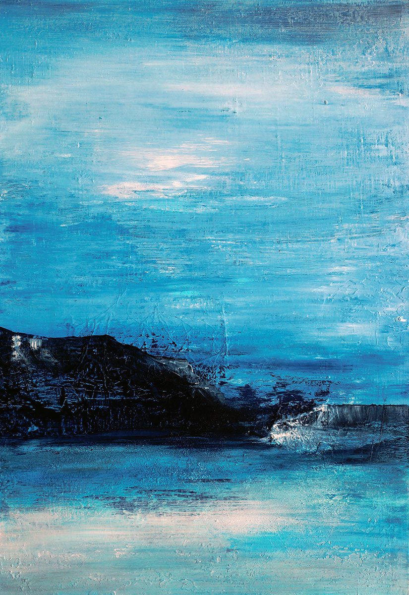 Wedell Sea, Antarktis - 70x100 acryl on canvas